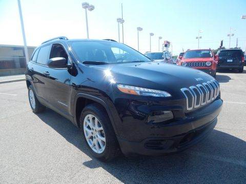 Pre-Owned 2017 Jeep Cherokee Sport FWD 4D Sport Utility