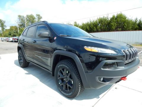 New 2018 Jeep Cherokee Trailhawk 4WD