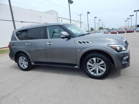Pre-Owned 2015 INFINITI QX80 Limited 4WD