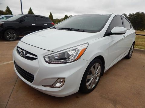 Certified Pre-Owned 2014 Hyundai Accent GLS FWD 4D Sedan