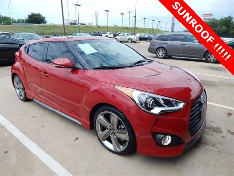 Certified Pre-Owned 2015 Hyundai Veloster Turbo FWD 3D Hatchback