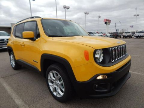 Pre-Owned 2017 Jeep Renegade Latitude FWD 4D Sport Utility