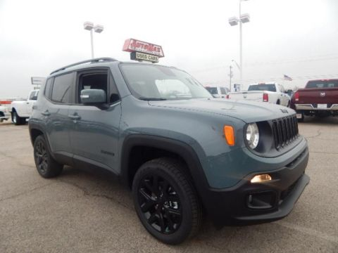 New 2017 Jeep Renegade Latitude 4WD