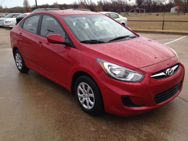 Used Hyundai Accent 4dr Sdn Man GLS