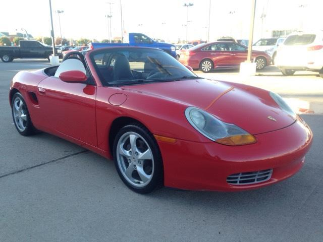 Used Porsche Boxster 2dr Roadster 5-Spd Manual